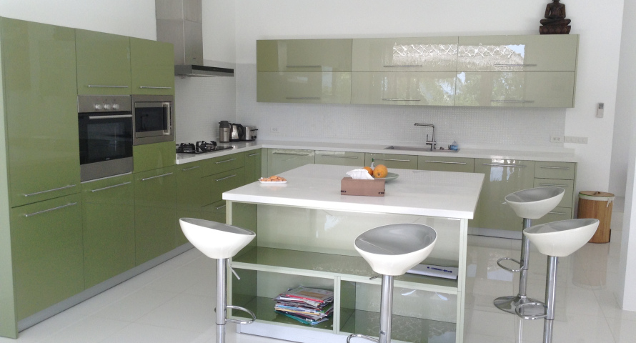 Kitchen Construction Service : Kitchen design koh samui construction and maintenance